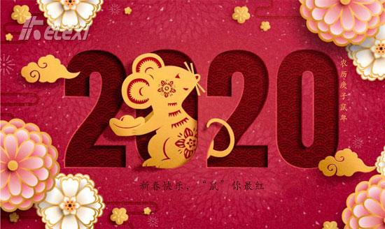 """2020新春快乐,""""鼠""""你最红!"""