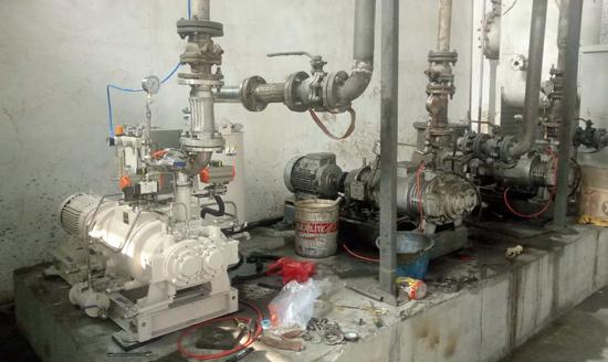 珂勒曦螺杆真空泵在ABS塑料原料生产中应用良好