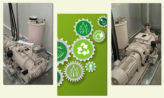 珂勒曦螺杆真空泵应用于电池能源制造领域
