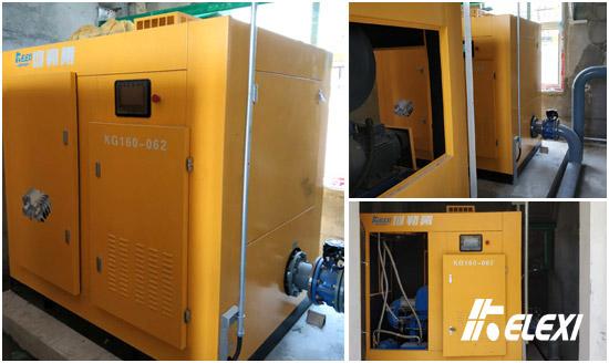 山东动力机械制造企业污水处理风机项目就绪启用