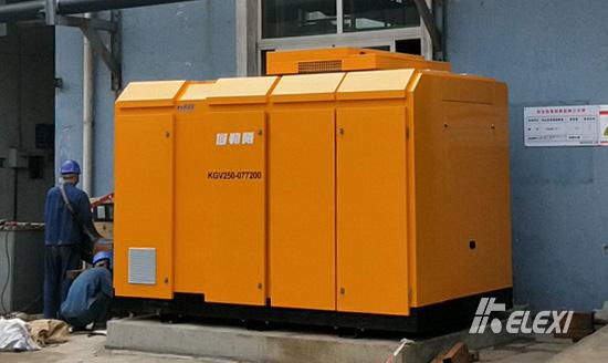 四川宜宾家纺企业启用鸿运国际螺杆式污水处置鼓风机
