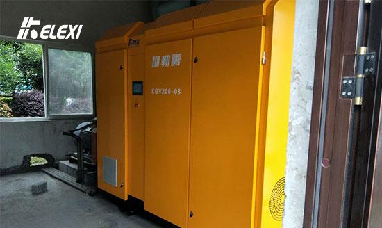 杭州建德企业污水处理螺杆鼓風機启用