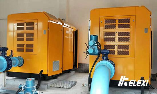 南京企业污水处置启用鸿运国际无油螺杆鼓风机