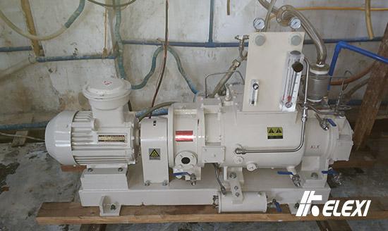 广东干式螺杆真空泵气体回收应用