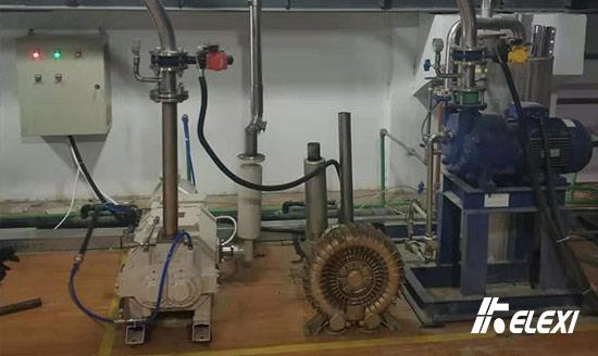 干式螺杆真空泵让注塑机送料系统环保更好用