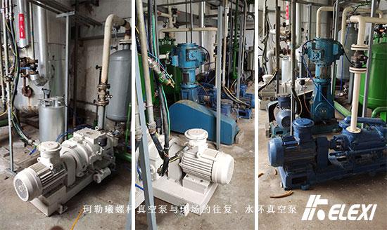真空蒸馏用珂勒曦螺杆真空泵,提效率增产能