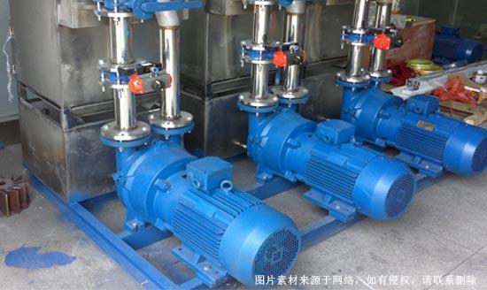 水量和水温对水环真空泵使用的影响